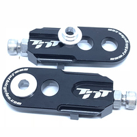 TNT Alloy Chain Adjusters suit 10mm or 6mm (Black)