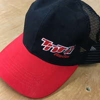 TNT Baseball Embroidered Cap (Red & Black)