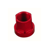 Tuf-Neck Alloy Axle Nut 14mm Red (each)