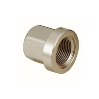 Tuf-Neck Alloy Axle Nut 14mm Silver (each)