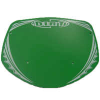 Dirt Design Number Plate Mini (Green)