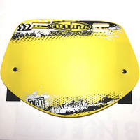 Dirt Design Number Plate Pro-Mid (Yellow)
