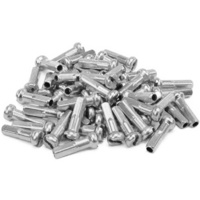 "Alloy Spoke Nipples 14g 5/8"" 16mm 50-pack (Silver)"