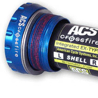 ACS Crossfire External BB 68/73 (Blue)