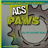 "ACS 20T Paws 3/32"" Chromo (Gun Metal Grey)"