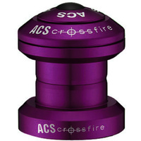 "ACS Crossfire 1"" Alloy Headset Sealed Bearing (Purple)"