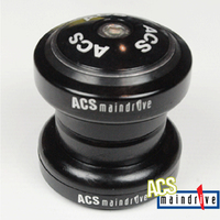 "ACS Maindrive 1"" Steel Headset Sealed Mech. Bearing (Black)"