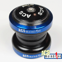 "ACS Maindrive 1-1/8"" Steel Headset Sealed Mech. Bearing (Blue)"