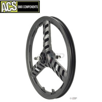 ACS Sellar-Mag 3 Spoke Front Wheel (Black)