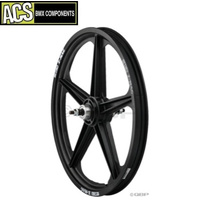 ACS Z-Mag 5 Spoke Rear Wheel (Black)