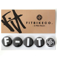 FIT Bike Buttons (5 Pack)