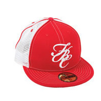 FIT Bike FBC Mesh New Era Hat (Red/White) 7-5/8""