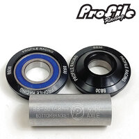 PROFILE BB30 Bottom Bracket Suit 19mm (Black)