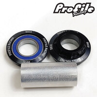 PROFILE BB30 Bottom Bracket Suit 22mm (Black)