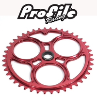 PROFILE Elite Spline-Drive Sprocket 42T (Red)