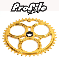 PROFILE Elite Spline-Drive Sprocket 45T (Gold)