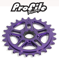 "PROFILE 19mm Spline Drive 1/8"" Sprocket 28T (Purple)"