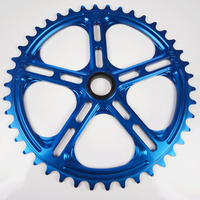 "PROFILE 19mm Spline Drive 1/8"" Sprocket 42T (Blue)"