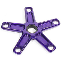 PROFILE Spider BMX 5 Bolt 110pcd 19mm Spline Drive (Purple)