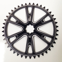 "PROFILE Sabre Splinedrive Sprocket 3/32"" X 42T (Black)"