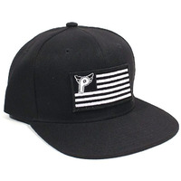 PROFILE Nation Snap Back Cap (Black/Black)