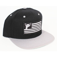 PROFILE Nation Snap Back Cap (Black/Grey)
