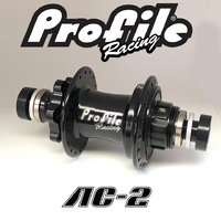 PROFILE AC-2 BMX Rear Disc Hub 36H (Matt Black)
