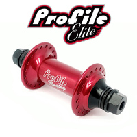 PROFILE Elite Hub Front 36H (Blood-Red)