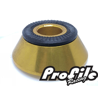 PROFILE MTB Front Cone Adapter 10mm (Gold)