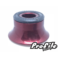 PROFILE MTB Rear Cone Adapter 10mm Non Drive (Red)