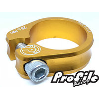 PROFILE Slim Jim S-Post Clamp 28.6mm Gold