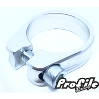 PROFILE Slim Jim S-Post Clamp 31.8mm Polished