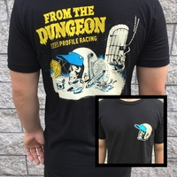 Profile 'From the Dungeon' Tee Black (Large)