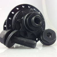 Sealed Rear 9T Cassette Hub 36H 14mm Female Bolt (Black)