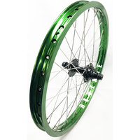 "BMX 20"" Rear Wheel Revenge ARC Rim-TN Sealed 14mm 9T Hub (Green)"