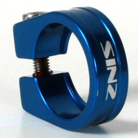 SINZ Seat Post Clamp Mini Lite 28.6mm (Blue)