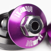 Black Market Head Set Intergrated 42mm (Purple)