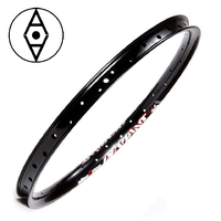 "ALIENATION Deviant G69 Rim 20"" 36H (Matt Black) (Front Only)"