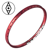 "ALIENATION Deviant Rim 24"" 36H (Red) (Front Only)"