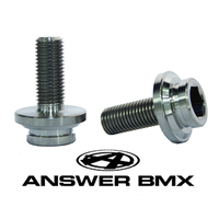 ANSWER Titanium Crank Bolt Kit (2 bolts)