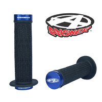 ANSWER Mini Lock-On Flanged Grips (Blue)