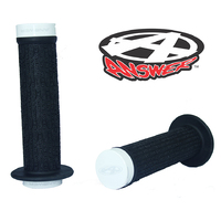 ANSWER Mini Lock-On Flanged Grips (White)