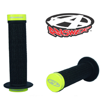 ANSWER Mini Lock-On Flanged Grips (Flo-Yellow)