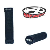 ANSWER Mini Lock-On Flangeless Grips (Black)