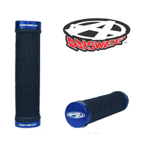ANSWER Mini Lock-On Flangeless Grips (Blue)
