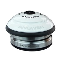 "ANSWER Mini 1"" Intergrated Headset (White)"