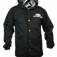 ANSWER Wind Breaker Button-Up Hoodie (XX-Large)