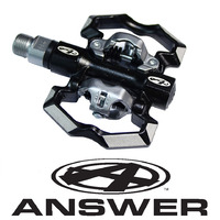 ANSWER Power Booster Senior Clip Pedals (Black)
