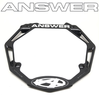 ANSWER Mini Number Plate (Black)