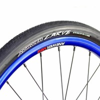 "ANSWER Carve 20 x 1.1/8"" Foldable HP Tyre suit 451 rim (Black)"